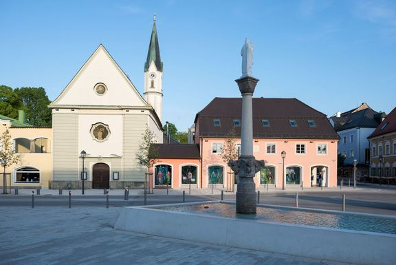 Marienplatz in Bad Aibling